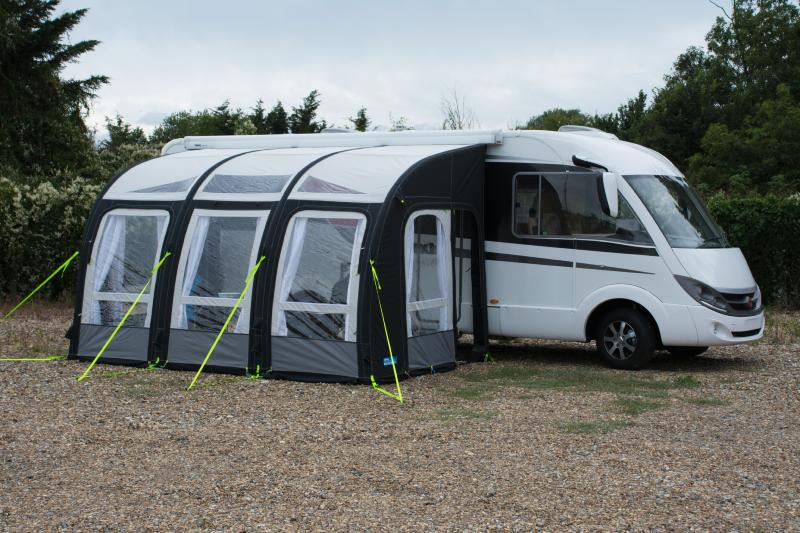 auvent gonflable kampa motor rally air pro 390 xxl pour camping car. Black Bedroom Furniture Sets. Home Design Ideas