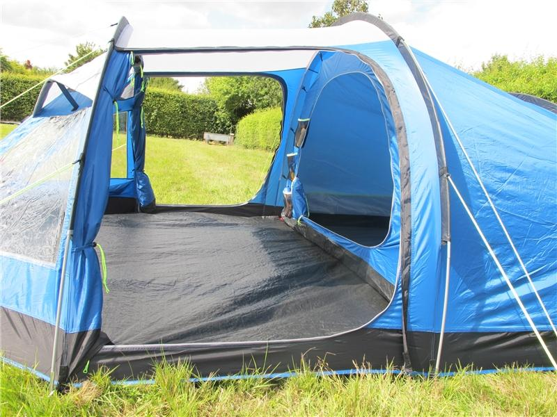 toile de tente de camping kampa mersea 4 places tente d me tente randonn e tente familial. Black Bedroom Furniture Sets. Home Design Ideas