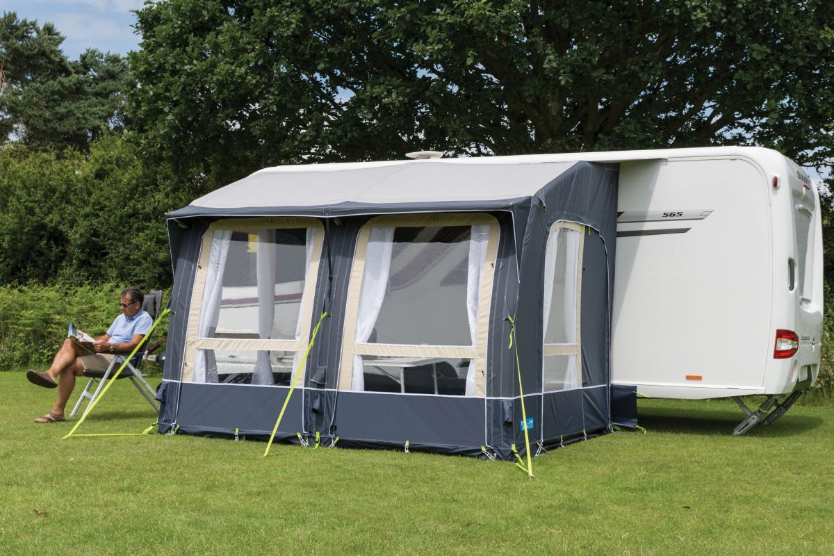 Auvent gonflable kampa classic air expert 300 pour caravane for Auvent gonflable kampa pour camping car
