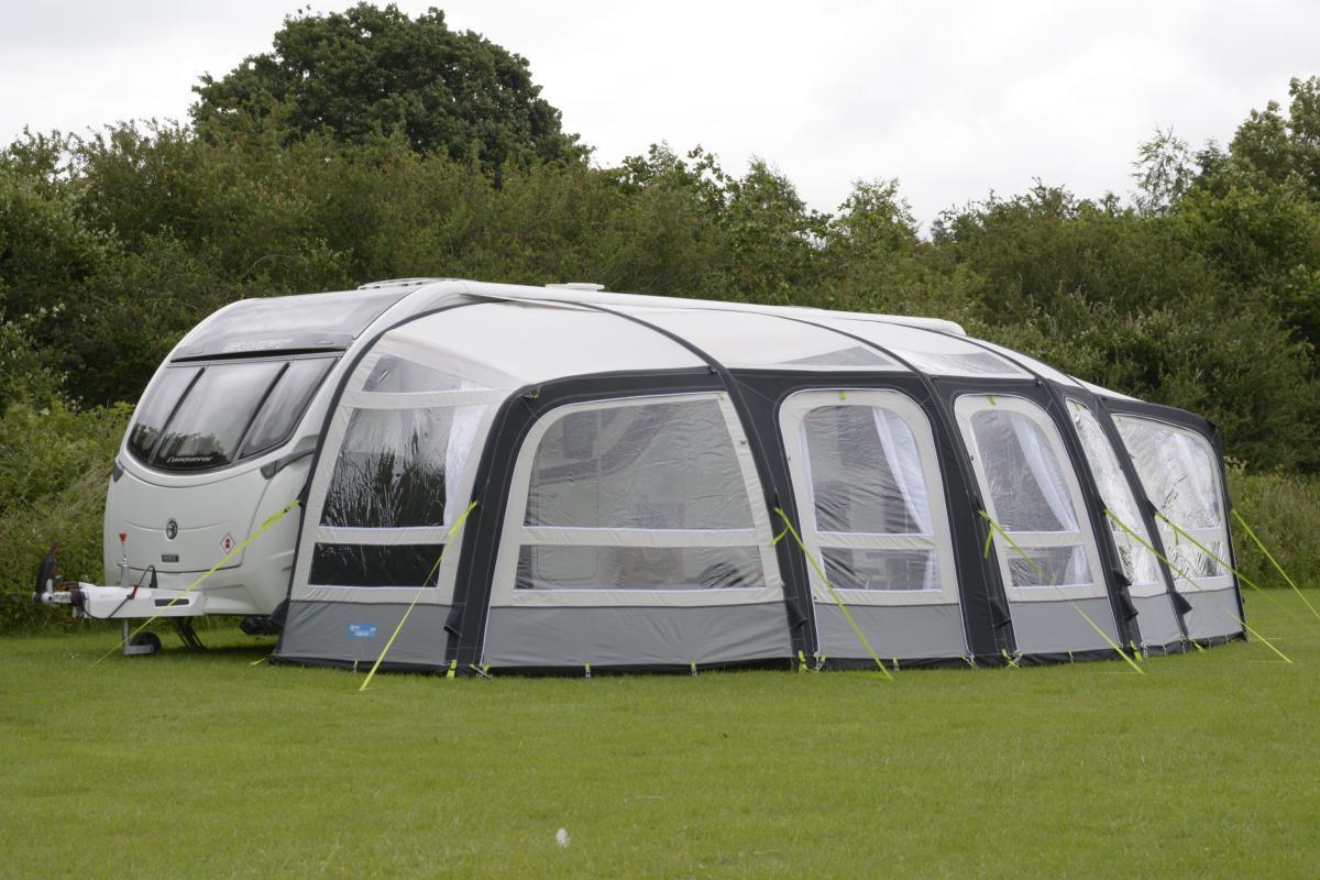 auvent kampa frontier air pro pour caravane. Black Bedroom Furniture Sets. Home Design Ideas