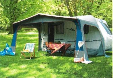 auvent de caravane clairval lavandou 2m70. Black Bedroom Furniture Sets. Home Design Ideas