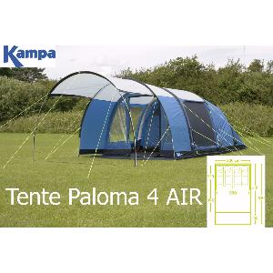 TENTE KAMPA GONFLABLE PALOMA 4 AIR