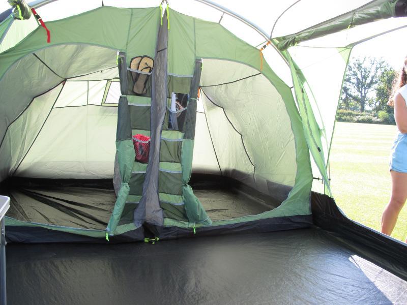 Toile de tente kampa watergate 8 places for Toile de tente 4 chambres