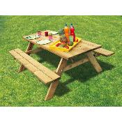 Table PIC-NIC 4/6 places