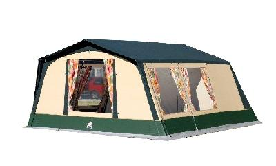 toile de tente familial atlas 6 places coton marque ticamo. Black Bedroom Furniture Sets. Home Design Ideas