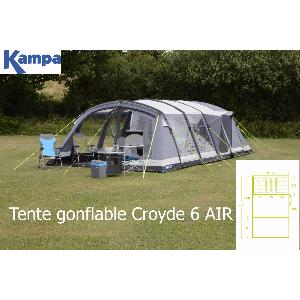 TENTE GONFLABLE CROYDE 6 AIR