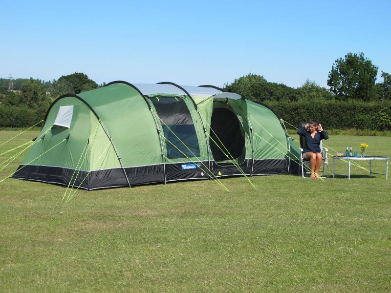 Toile de tente kampa watergate6 places - Tente 6 places 2 chambres ...