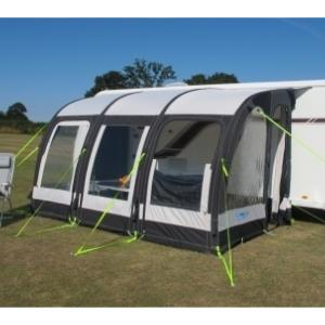 Auvent gonflable Kampa Motor Rally Air Pro 390 XXL pour camping-car