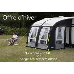 Auvent gonflable KAMPA Motor Rally Air Pro 260XL pour camping-car