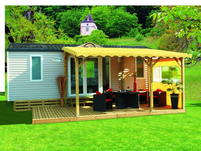 pergola bois clairval pour terrasse