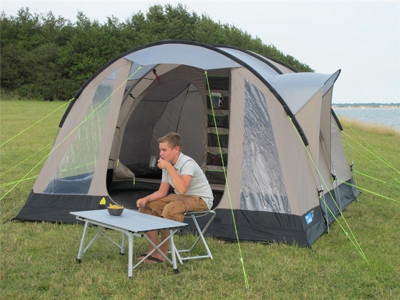 toile de tente de camping kampa oxwich 5 places tente d me tente randonn e tente familial. Black Bedroom Furniture Sets. Home Design Ideas