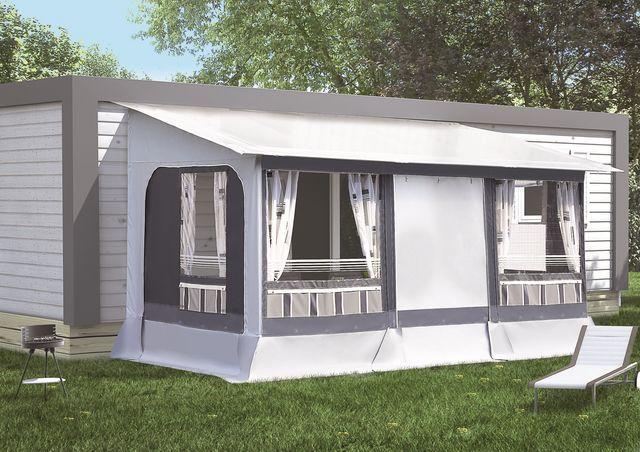 auvent pour mobil 39 home. Black Bedroom Furniture Sets. Home Design Ideas