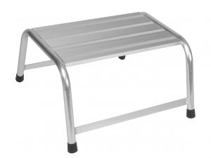 MARCHE PIED SIMPLE EN ALUMINIUM