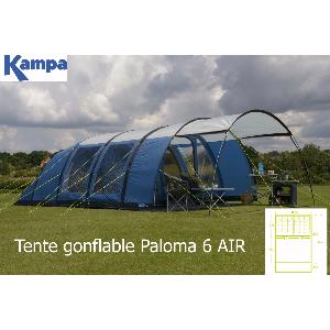 TENTE KAMPA GONFLABLE PALOMA 6 AIR