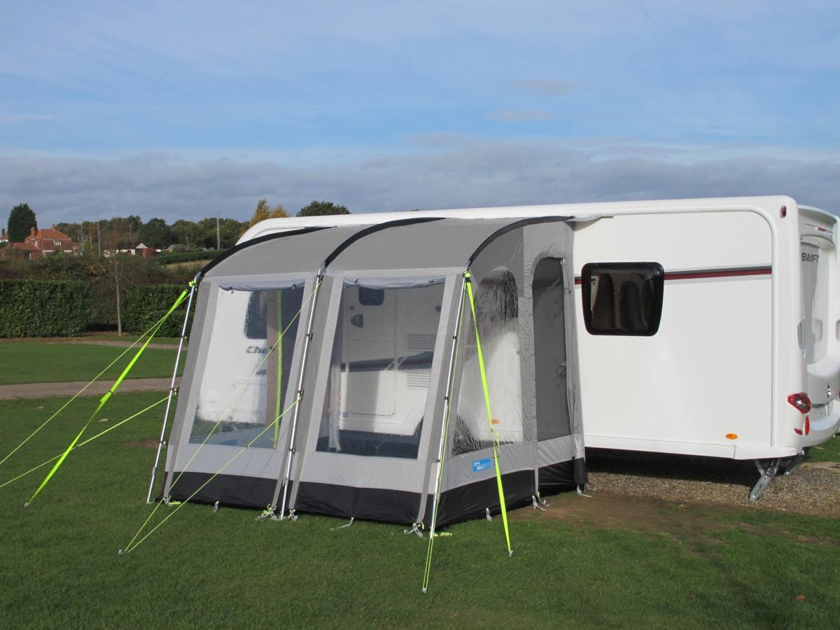 auvent partiel kampa rally 260 330 390 pour caravane. Black Bedroom Furniture Sets. Home Design Ideas