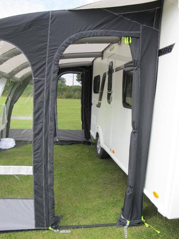 auvent gonflable kampa motor rally air 390 l pour camping car. Black Bedroom Furniture Sets. Home Design Ideas